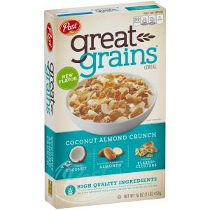 Post - Great Grains Coconut Almond