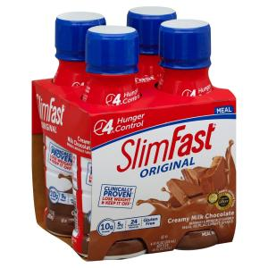 Slim Fast - Crmy Milk Chocolate Shake 4ct